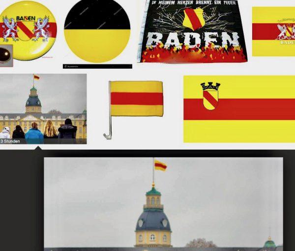 Badische Flagge muss wehen!