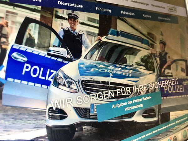 Wir stärken die Polizei