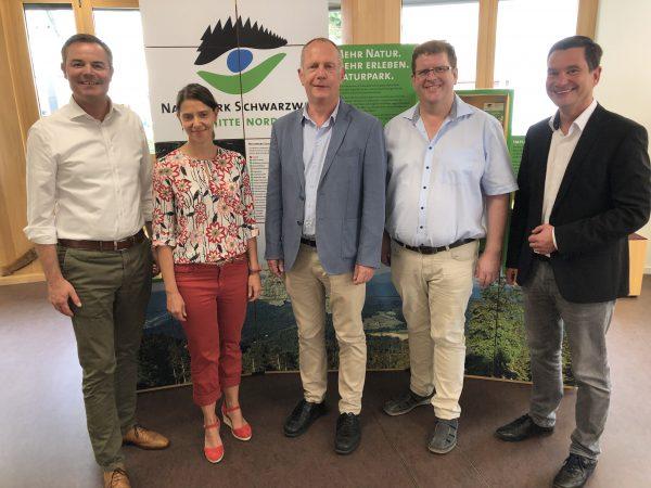 Besuch beim Naturpark - Vorstellung Masterplan Kaltenbronn