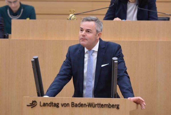 Der CDU-Landtagsabgeordnete Tobias Wald tritt wieder an
