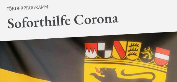Vorläufige Bilanz Soforthilfe Corona